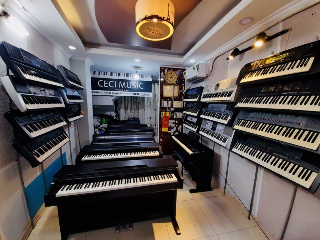 cửa hàng nhạc cụ Ceci Music